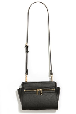 Zip-a-Dee-Doo Black Purse at Lulus.com!
