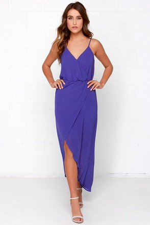Wrap it Up Black Maxi Dress at Lulus.com!