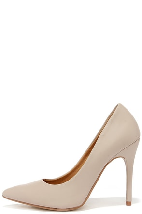 Chinese Laundry Neapolitan Mushroom Grey Pumps at Lulus.com!