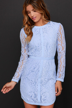 Sweet as Sugar Ivory Long Sleeve Lace Dress at Lulus.com!