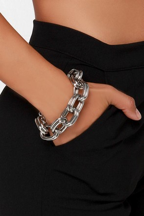 Chain Your Life Silver Bracelet at Lulus.com!