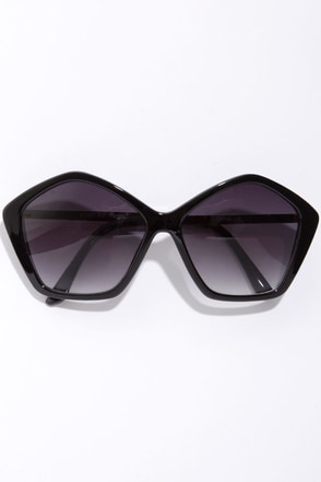 Dune Black Sunglasses at Lulus.com!