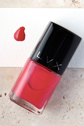 LVX Peony Light Pink Nail Lacquer at Lulus.com!