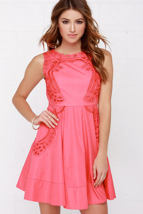 Venetian Rose Light Blue Dress at Lulus.com!