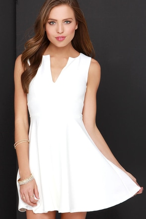 For All Time Ivory Dress at Lulus.com!