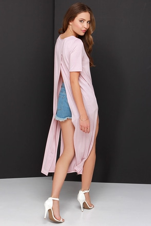 In Flow Motion Blush Maxi Top at Lulus.com!