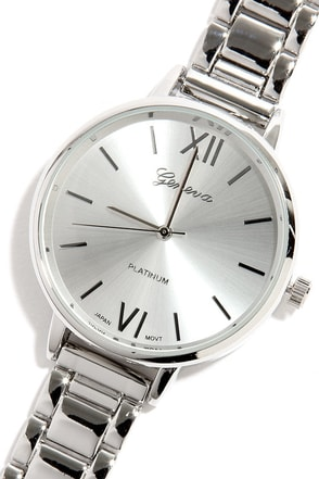 Hour Love Silver Watch at Lulus.com!