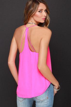 To a T Hot Pink Top at Lulus.com!