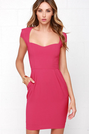 LULUS Exclusive Share the Love Wine Red Dress at Lulus.com!