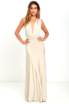 Always Stunning Convertible Purple Maxi Dress at Lulus.com!