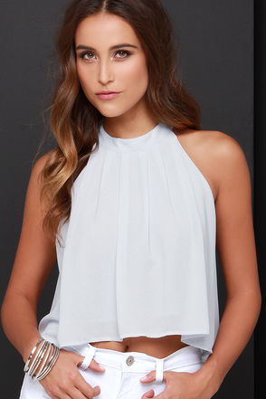 Legend Has It Ivory Crop Top at Lulus.com!