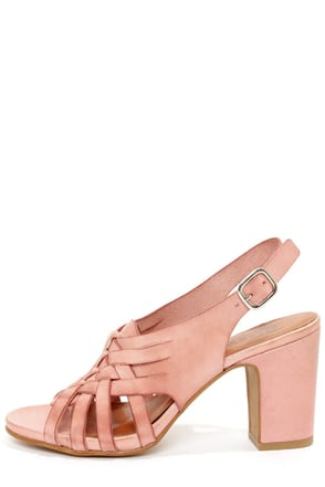 Sixtyseven 75746 Heather Vachetta Brandy High Heel Sandals