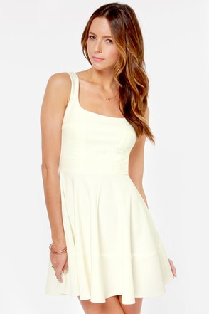 Home Before Daylight Ivory Dress