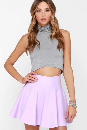 Ice Cream Sundays Yellow Knit Skater Skirt at Lulus.com!