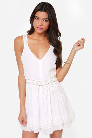 O'Neill Cocoa Ivory Lace Dress