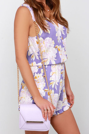 Case Closed Lavender Purse at Lulus.com!