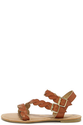 Best of the Twist Tan Ankle Strap Sandals at Lulus.com!