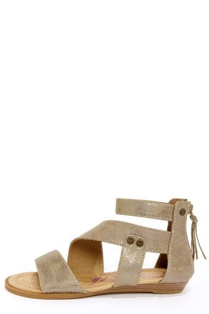 Blowfish Brink Bronze Gladiator Sandals