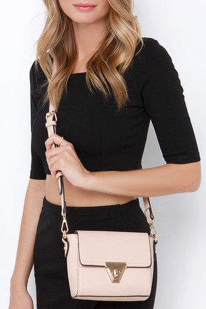 Class and Style Nude Purse at Lulus.com!
