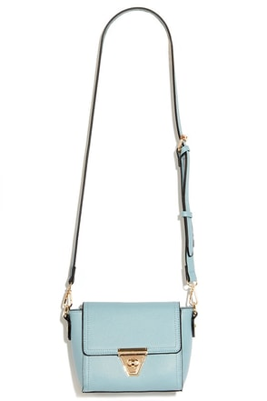 Class and Style Light Blue Purse at Lulus.com!