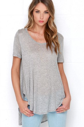 Moving Milestones Periwinkle Tee at Lulus.com!
