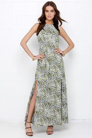 Sugarhill Boutique Lottie Black Print Maxi Dress at Lulus.com!