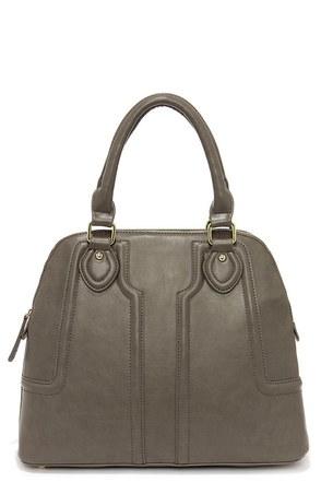 Open For Business Grey Handbag at Lulus.com!