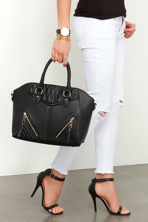 Got it Handled Black Handbag at Lulus.com!