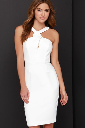 Keepsake New Bloom Ivory Midi Dress at Lulus.com!