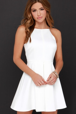 Cameo Nightswim Ivory Dress at Lulus.com!