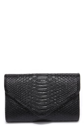 Reptile it Like it Is Silver Clutch at Lulus.com!