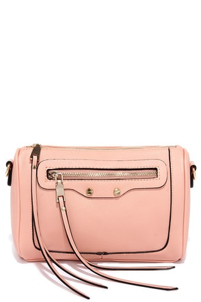 Sweet Serenade Blush Purse at Lulus.com!