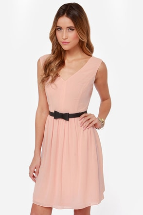 A Thing Called Love Peach Dress