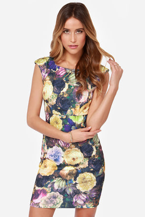Darling Layla Floral Print Dress