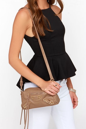 Gotta Have Ya Taupe Purse at Lulus.com!