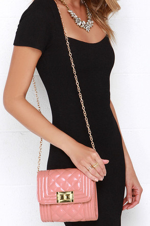Classic Beauty Blush Pink Quilted Purse at Lulus.com!