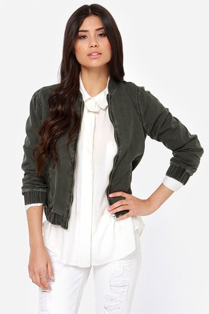 Obey Secret Society Charcoal Grey Jacket
