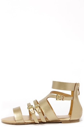 Cypress Cognac Gladiator Sandals at Lulus.com!