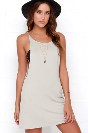 To Be Carefree Ivory Sleeveless Dress at Lulus.com!