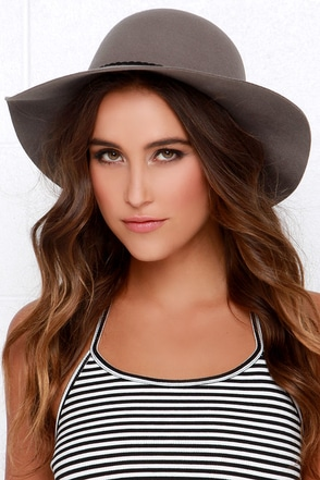 Sun is Shining Black Floppy Hat at Lulus.com!