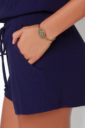 Head of the Classic Gold Bracelet at Lulus.com!