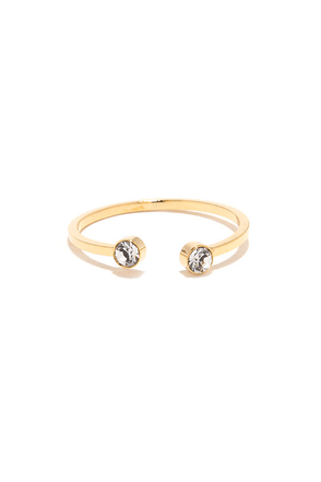 Star Sister Gold Rhinestone Ring at Lulus.com!
