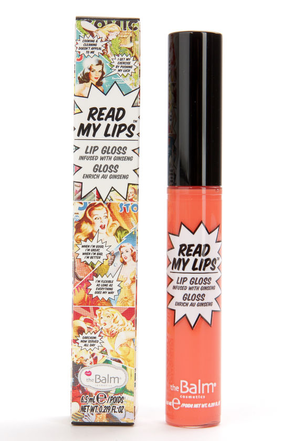 The Balm Read My Lips Boom! Berry Lip Gloss at Lulus.com!