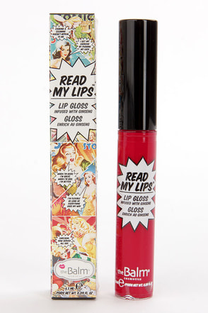 The Balm Read My Lips Wow! Red Lip Gloss at Lulus.com!