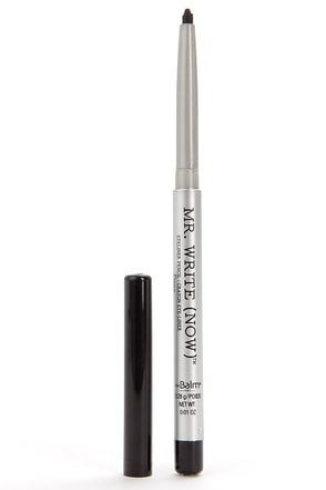 The Balm Mr. Write Now Bill B. Mocha Dark Brown Eyeliner Pencil at Lulus.com!