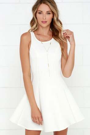 Call Me Maybe Ivory Dress at Lulus.com!