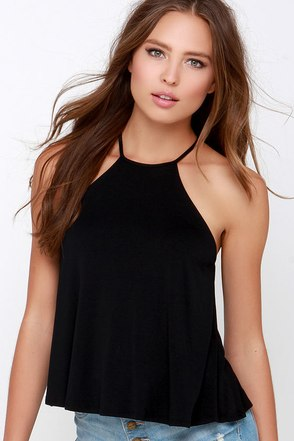 Brave Silence Black Top at Lulus.com!