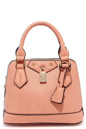 Slight Attendant Cream Mini Handbag at Lulus.com!