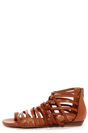 Sixtyseven 75961 Ashley Vachetta Silver Gladiator Sandals