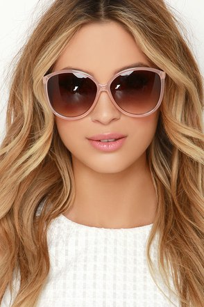 See What I Mean Black Sunglasses at Lulus.com!